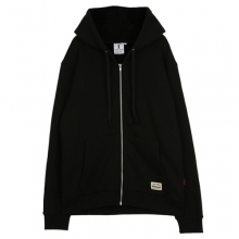 [THEDOSI] (10%세일) (남여공용) Over Cap Zip Up Hoodie - Black