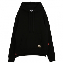 [THEDOSI] (10%세일) (남여공용) Side Vent Over Cap Hoodie - Black