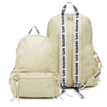 Capsule169 3Pocket Backpack - Beige