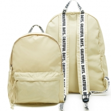 Capsule169 1Pocket Backpack - Beige
