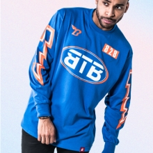 [Bank2Brothers]Speed Long Sleeves - Blue