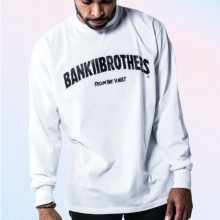[Bank2Brothers]Basic Long Sleeves - White