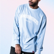 [Bank2Brothers]Basic Long Sleeves - Sky Blue
