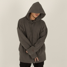 [Nameout] Oversized Daily Hoodie - Grey