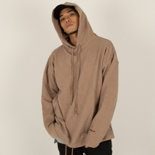[Nameout] Oversized Daily Hoodie - Beige