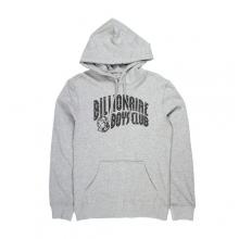 Arch Logo Pullover Hoodie - Grey