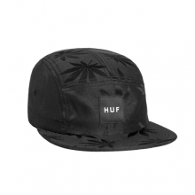 Plantlife Volley Camp Cap - Black
