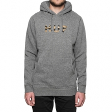 Original Logo Pullover Hooded - Grey Heather