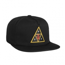 Huf X Obey Triple Trianle Snapback - Black