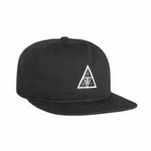 Huf X Obey 6 Panel Cap - Black