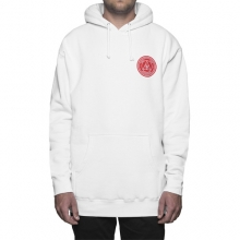 Huf X Obey Rat Race Pullover Hooded - White