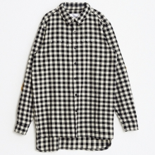 Flannel Check Shirts - Black