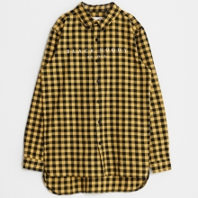 Flannel Check Shirts - Yellow