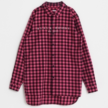 Flannel Check Shirts - Pink