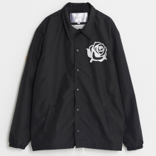 Rose Coach Jacket - Black