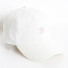 Rose Soft Cap - White