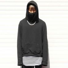 Necklace Hoodie - Black