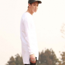 Sleeve T-Shirt - White