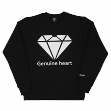 Diamond Heart Logo M.T.M - Black