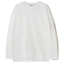 [Nameout] Oversized Long Sleeve Tee - White