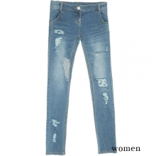 0054 Denim Pants - Blue