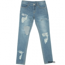 0055 Denim Pants - Blue
