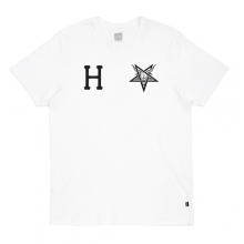Huf Thrasher Team Tee - White