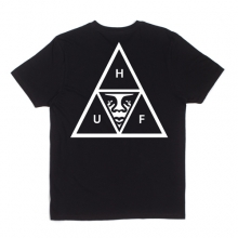 Huf Obey Triple Triangle Pocket Tee - Black