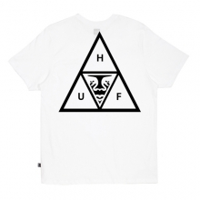 Huf Obey Triple Triangle Pocket Tee - White