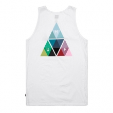 Triangle Prism Tank - White