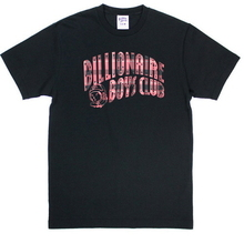 Plaid Arch Logo Tee - Black