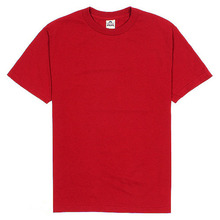 (1301)Adult Short Sleeve Tee - Cardinal