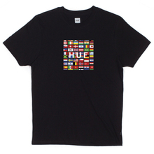 Flag Box Logo Tee - Black