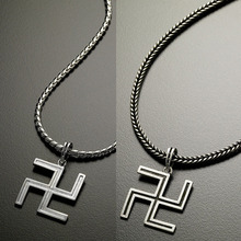 [925 SIlver] The Buddhist Cross Pendant - 2 Color