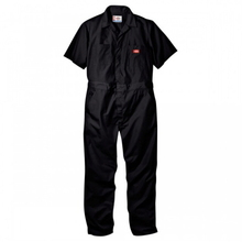 Short Sleeve Coverall(33999) - Black