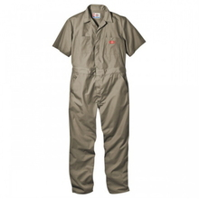 Short Sleeve Coverall(33999) - Khaki (Beige)