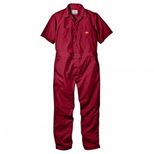 Short Sleeve Coverall(33999) - Red