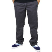 Slim Straight Workpants(873) - Charcoal