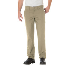 Slim Straight Pants(805) - Dark Sand