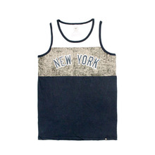 MLB Yankees Fall Navy Split Line Tank