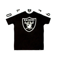 Raiders Jet Black Pointman Tee