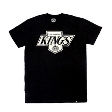 HVIN LA Kings Jet Black Frozen Rope Tee