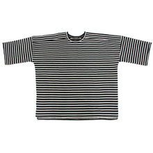 [Nameout] 3/4 Sleeve Tee - Black Stripe