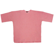 [Nameout] Heavy 3/4 Sleeve Sweatshirt - Dark Pink