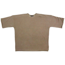 [Nameout] Heavy 3/4 Sleeve Sweatshirt - Beige