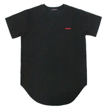 [Nameout] Basic Layered Tee - Black