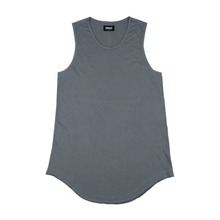 [Maremoto]Layered long sleeveless - Light Charcoal