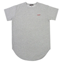[Nameout] Basic Layered Tee - Heather Grey