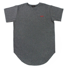 [Nameout] Basic Layered Tee - Charcoal Grey