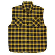 [Nameout] Muscle Shirts - Yellow/Navy